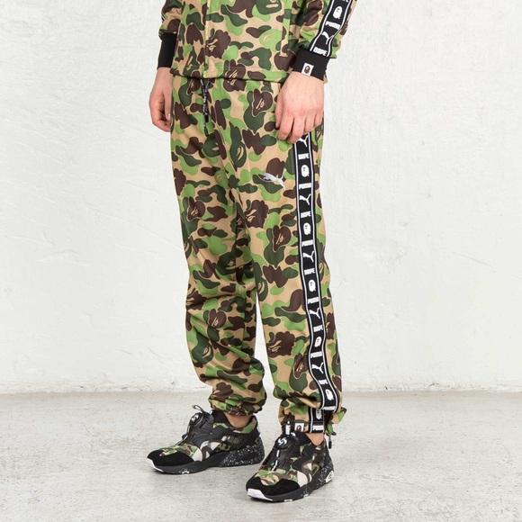 bape x adidas leggings